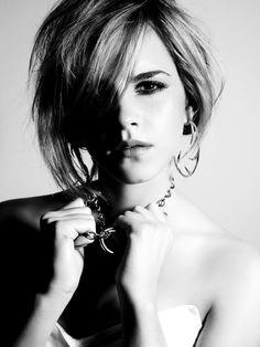 Emma Watson's makeup.