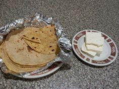 Chapati (indian)~posni gibanici