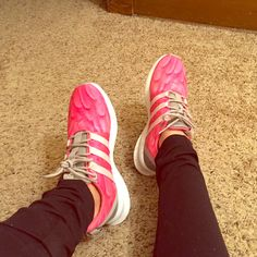 sneakers for cheap 59099 4ba3c Adidas Shoes   Adidas Sl Loop Racer Pinkgrey Women S Running   Color  Pink    Size  7.5