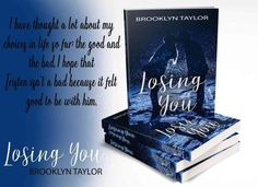 Loosing You By Author Brooklyn Taylor  http://ift.tt/2kgRrUs  Tristen has never lost anything because hes never had anything. An orphan since age 4 he was passed from home to home miserably. He had never felt love and as a senior in high school didnt think he ever would. He accepted that long ago and lived his life with thrill no rules and freedom. Zoey on the other hand has everything to lose. A junior in high school she has things to prove especially to her parents. She made one bad…