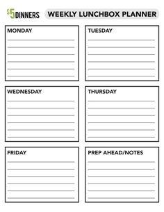 31 Days of School Lunchbox Ideas