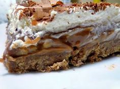 Cypriot Food, Sweets Cake, Greek Recipes, Nutella, Recipies, Deserts, Greek Beauty, Oreos, Sweet Like Candy
