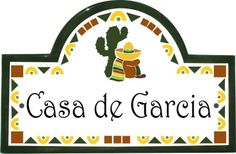 Spanish decor on pinterest spanish style address for Spanish style house numbers