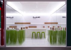 Riso Almo booth at Cibus Parma 2014 on Behance
