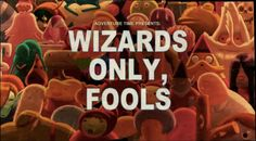Adventure Time Title Card S5 Ep 25 Wizards Only, Fools