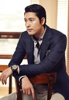 wandering thoughts...my K-World: Jung Woo Sung Spring Pictorial for Menswear