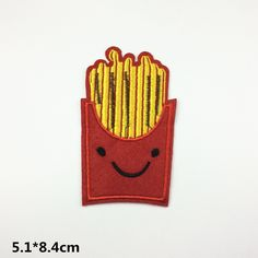 New to craftapplique on Etsy: chips patch cute patch patch for kids embroidered patch iron on patch sew on patch (1.90 USD)