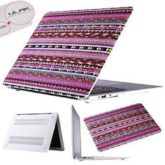 "Pandamimi ULAK(TM) Tribal Design Rubberized Matte Solid Hard Shell Case Cover for Apple Macbook Air 13"" 13 inch (Red tribal) by ULAK, http://www.amazon.com/dp/B00FF731HC/ref=cm_sw_r_pi_dp_aqWqsb10J3J59"