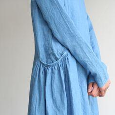 dress from mathilde, lovely pocket detail