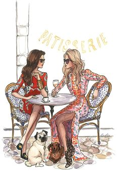Paris ~ coffee and wine anytime