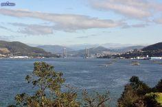Información sobre el Faro y punta de A Guía, en Vigo