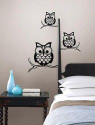 $19.99 Owl wall decal