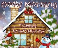 Good Morning Wednesday Blessings Winter Quote