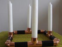 Kerzenleuchter/Vase *Bauhaus*