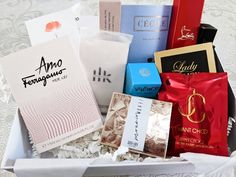 The Perfume Society Launches We Love Discovery Box 2021 | I Scent you a Day Discovery Box, Perfume Samples, Our Love, Product Launch, Tableware, Dinnerware, Tablewares, Dishes, Place Settings