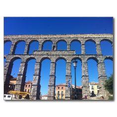 Acueducto de Segovia - Acueducto Post Card #Acueducto #Segovia #spain #postcard