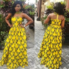 We've Got You Covered: Get Fashionable With These 50 Ankara Styles - Wedding Digest Naija African Print Fashion, African Fashion Dresses, African Attire, African Wear, African Women, African Dress, Fashion Outfits, Ankara Gowns, Ankara Dress