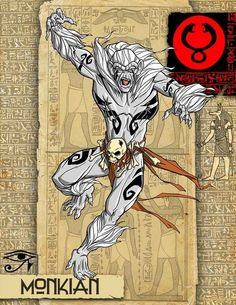 Monkian | What If The Thundercats Came From Ancient Japan