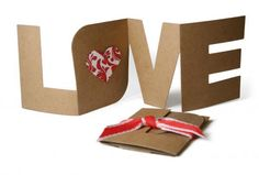Love card - Made this for hubby this year for Valentine's day