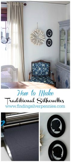 how to make tradition silhouettes a step by step tutorial with @silhouettepins