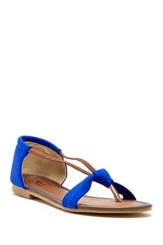 Elastic Band Bow Sandal by Non Specific on @HauteLook