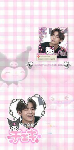 Taehyung Sanrio Core Wallpaper 🍓