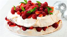 Have your dessert and eat it too with this classic Aussie Pavlova recipe. The bonus? It has less than eight grams of fat!
