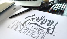 typography inspiration combining the bold and normal line base