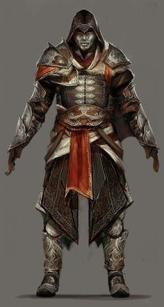Turkish Armor concept from Assassin's Creed Revelations.  Possible armor concept. Primarily arms, Pauldrons. Greaves.