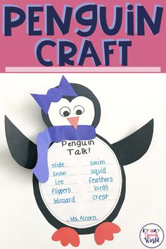 Penguin craft activi