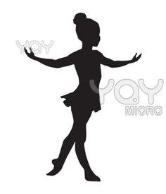little ballerina silhouette