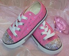 Baby Bling Shoes : Rhinestone Baby Shoes : Crystal Baby Shoes....forget baby shoes looking for Keds for me. Totally need these