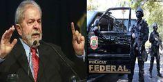 Lula e tomado pela indignação, saiu do depoimento Polícia Federal