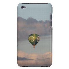 Heißluftballon mit BAYER-Kreuz über Leverkusen iPod Case-Mate Case