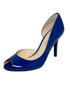 Another Macy's shoe - Comes in fuschia and has great ratings. Apparently they are comfortable and a have a good heel height.