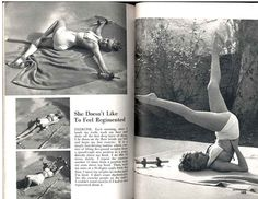 "EXERCISE by Marilyn Monroe_""Each morning, after I brush my teeth, wash my face and shake off the first deep layer of sleep, I lie down on the floor beside my bed and begin my first exercise. Marilyn Monroe Quotes, Marylin Monroe, Personal Trainer Website, Brush My Teeth, Norma Jeane, Stay In Shape, Forever, Life Magazine, Musical"