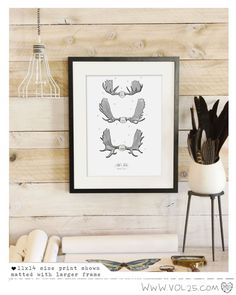 Hey, I found this really awesome Etsy listing at https://www.etsy.com/listing/169217520/vintage-inspired-science-print-moose