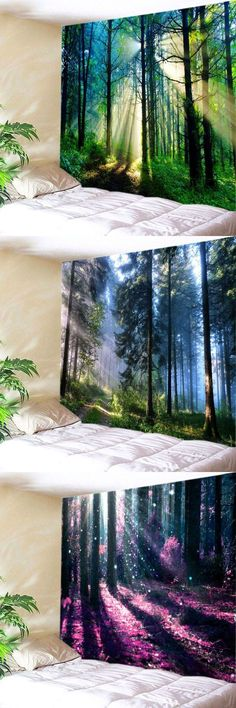 52 ideas for bedroom ideas tapestry wall art Wall Murals, Wall Art, Diy Wall, Wall Hangings, Wall Decor, My New Room, My Dream Home, Home Deco, Wall Tapestry