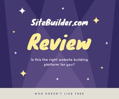 Is this site building platform right for you? We break it down.