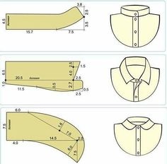 How to sew a pants fly Techniques Couture, Sewing Techniques, Dress Sewing Patterns, Clothing Patterns, Sewing Hacks, Sewing Tutorials, Sewing Ideas, Sewing Collars, Sewing Men