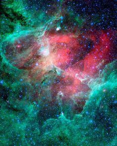 woaaaaaah.Infrared Eagle Nebula Photograph