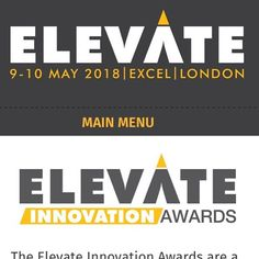 Very excited to be a judge for this years @elevatearena innovation awards! #Elevate #Innovation #Awards#fitness #health #gym