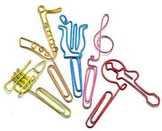 Musical Instruments Paper Clips