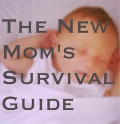 Motherhood Monday: The New Moms Survival Guide - The Little Garlic, new mom advice, first weeks with baby, tips for new moms