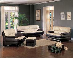 Living Room : Living Room Grey Living Room With Brown Furniture ...