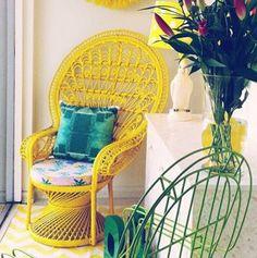 Consejos para crear una decoración bohemia (juega con los estampados y los colores vibrantes).