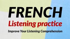 French Listening for Beginners (recorded by Real Human Voice) - YouTube Learning Methods, Learning Resources, Human Resources, French Practice, Learn To Speak French, Human Voice, French Words, Learn A New Language, French Lessons