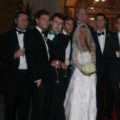Jamie at his sisters wedding.  I believe that Jamies family all still live in Ireland