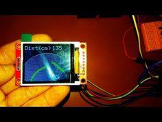 Ультразвуковой радар (ST7735S) / Arduino-проекты