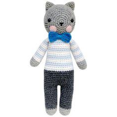 Lev the Cat   Gatito Crochet